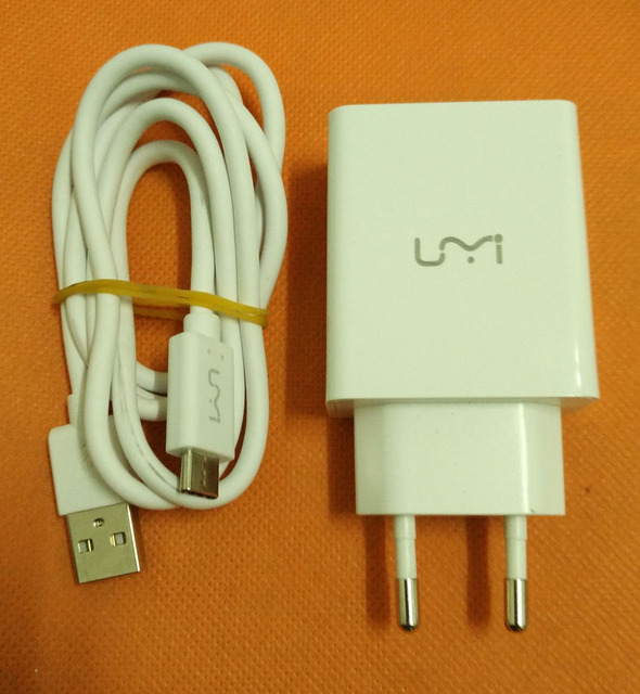 "Original USB Charger Plug + Cable for UMI Super MTK6755 Octa Core 5.5"" FHD 1920x1080 Free Shipping"