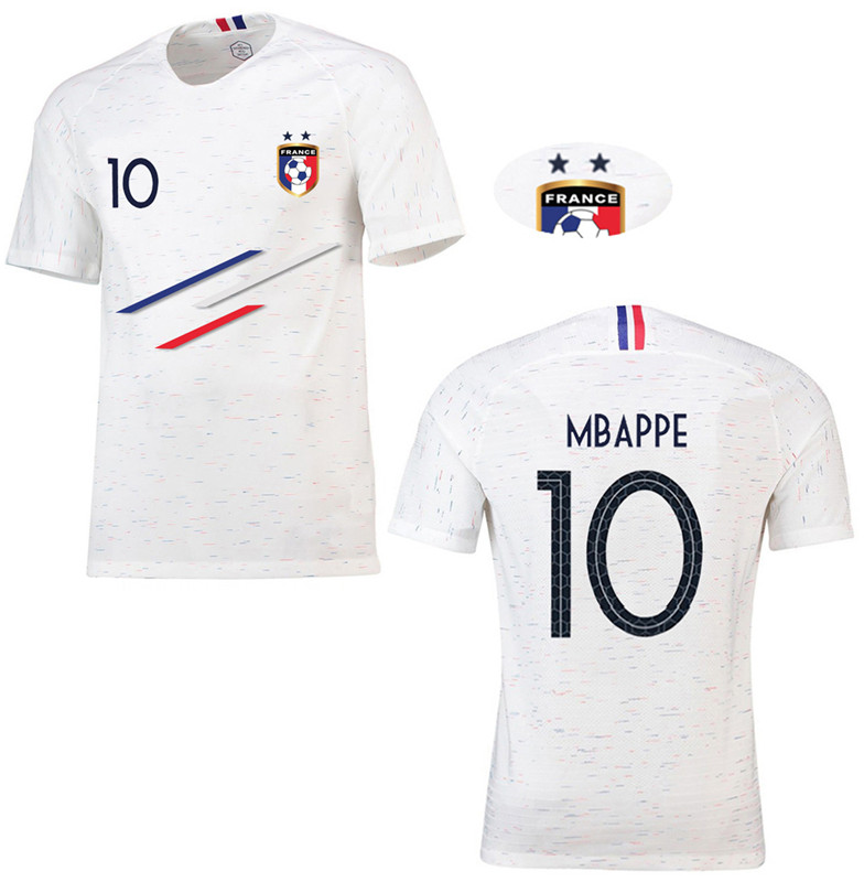 big sale 47dfb 2b269 CINPOO Children Sporty Short Sleeve Football Jersey Shirt France Style  MBAPPE/GRIEZMANN Soccer Kids Top Tees