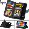 For Funda Samsung Galaxy S5 Case Leather Wallet Flip Cover For Samsung Galaxy S5 Neo Case