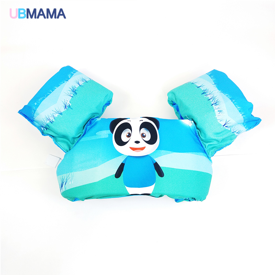 Cartoon swim Accessories Arm Float Swimming Circle Kid Trainer Child Life Vest Inflatable Donut Swim vest EPE Swimming arm vest