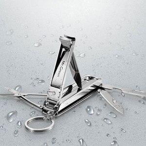 Image 1 - MR.GREEN Multifunctional nail clipper stainless steel belt finger file ring finger scissors belt bottle opener  plier scissorss
