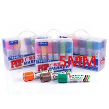 Sipa 12 Farbe POP 5mm Marker Stifte, Hervorhebung Stifte für Schreiben, Zeichnung, Werbung, poster Design, Förderung, Feier