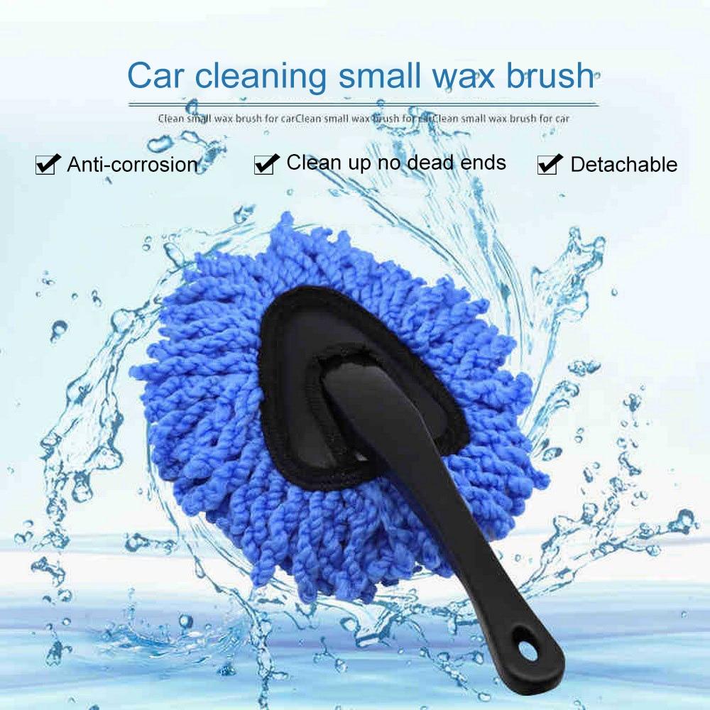 Lavage de voiture brosse de nettoyage microfibre dépoussiérage outil Duster poussière vadrouille fournitures de nettoyage à domicile voiture vadrouille dépoussiérage Portable lavable