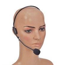 Micro de casque portatif câblé 3.5mm bobine mobile écouteur prise dynamique micro pour haut-parleur Guide touristique enseignement Lecture