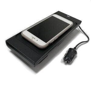 Image 5 - 10 ワットの車のワイヤレス充電器ボルボ XC90 V90 S90 XC60 2018 2019 2020 ワイヤレスチー電話の充電器プレートアクセサリー