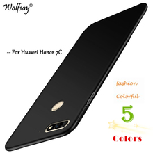Cover Huawei Y7 Prime 2018 Case Ultra Thin PC Armor Phone Case for Huawei Y7 Prime 2018 Cover Huawei Nova 2 Lite / Honor 7C Pro silicon phone cases for huawei honor 7c pro case soft cover for huawei y7 prime pro 2018 nova 2 lite case transparent tpu 5 99