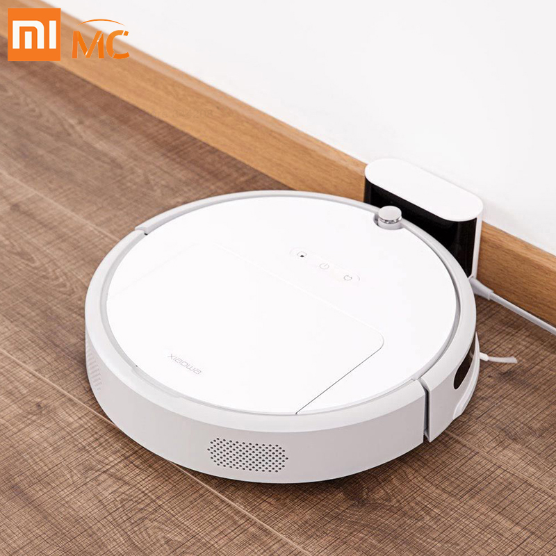 Original Xiaowa Robot Roborock aspirador 4 para Xiao mi jia hogar barrer trapear Polvo inteligente planeado app Control