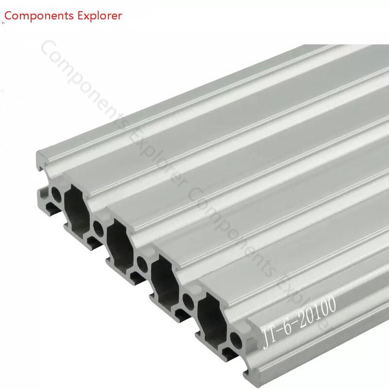 Arbitrary Cutting 1000mm 20100 Aluminum Extrusion Profile,Silvery Color. Arbitrary Cutting 1000mm 20100 Aluminum Extrusion Profile,Silvery Color.