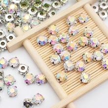 Hot Claw Rhinestones Silver Base Crystal Glass Stones and Crystals strass Sewing Rhinestones Fabric Needlework Craft For Clothes цены