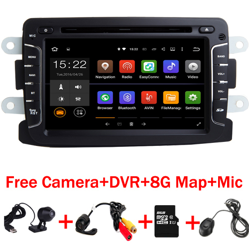 2 din Android 7,1 автомобильный gps Navi DVD для Dacia Sandero тряпкой Renault Captur Лада Xray 2 Logan 2 Оперативная память 3g WI FI gps навигации радио