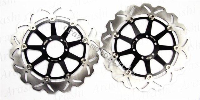 Бесплатная доставка мотоцикл тормозного диска ротора, пригодного для ДУКАТИ монстр 400 620 2001-2006 спорт 2003-2004 SPORT1000 2006-2008 Стойка