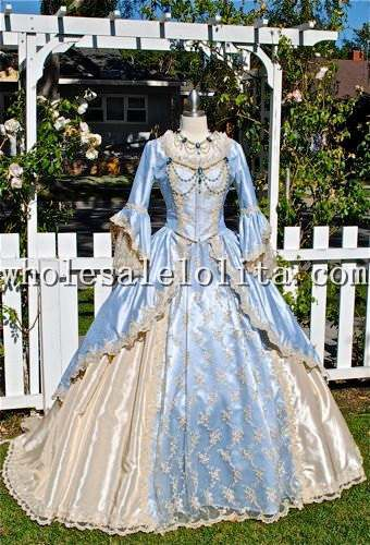 Victorian Marie Fantasy Dresses Upscale Gown Custom /Handmade Ball ...