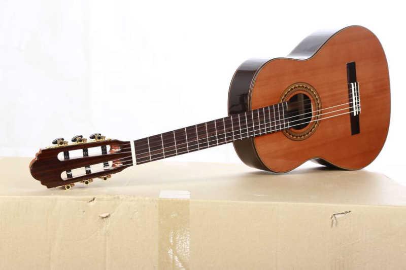 36 بوصة اليدوية الغيتار الاسباني ، VENDIMIA الصلبة الأرز/خشب الورد الغيتار الصوتية ، الغيتار الكلاسيكي مع سلسلة النايلون 580 مللي متر
