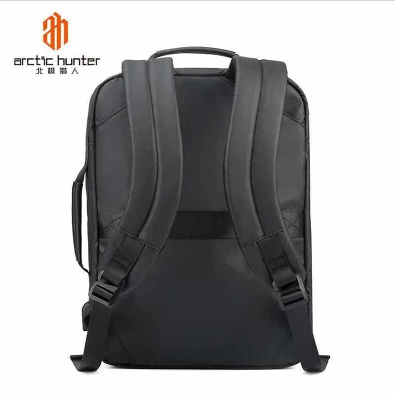 ArcticHunter водоотталкивающий Оксфордский Противоугонный мужской рюкзак 15,6 дюймов для ноутбука с USB подзарядкой для путешествий мужской Mochila водонепроницаемая сумка