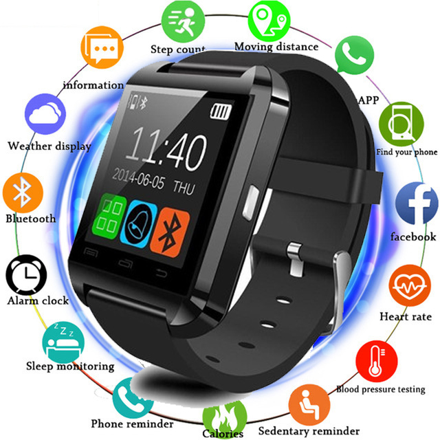 Smartwatch Phone Bluetooth U8 Smart watch Clock Sync Notifier Connectivity For Android Phone Xiaomi Smartwatch Watches as DZ09Smartwatch Phone Bluetooth U8 Smart watch Clock Sync Notifier Connectivity For Android Phone Xiaomi Smartwatch Watches as DZ09