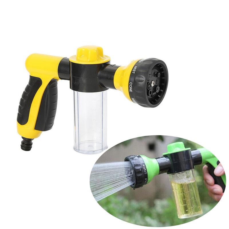 Portable Adjustable Garden Hose High Pressure Pistol Car Water Gun Nozzle Nozzle Garden Hose Car Wash Water Pistol Car Wash Tool