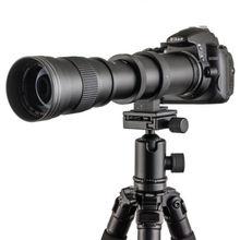 420-800mm F/8.3-16 Telephoto Zoom Lens + T Mount for Pentax PK K3 K5 K7 K20D K200D цена 2017