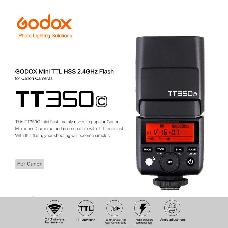 Godox Mini Speedlite TT350C TTL 2.4G ไร้สายความเร็วสูง 1/8000s GN36 กล้องแสงแฟลชสำหรับ canon กล้องดิจิตอล-ใน แฟลช จาก อุปกรณ์อิเล็กทรอนิกส์ บน AliExpress - 11.11_สิบเอ็ด สิบเอ็ดวันคนโสด 1