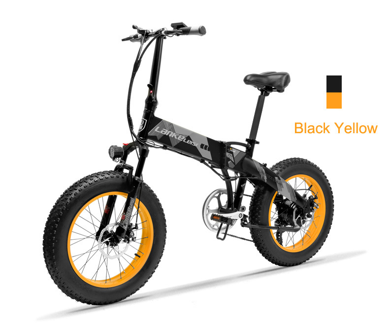HTB1p6fIbjzuK1RjSsppq6xz0XXaz - 20 Inch Electrical Snow Bike Electrical Bicycle Two Wheel Brushless Motor 500W 48V Mountain Bike Folding Moveable Electrical Scooter