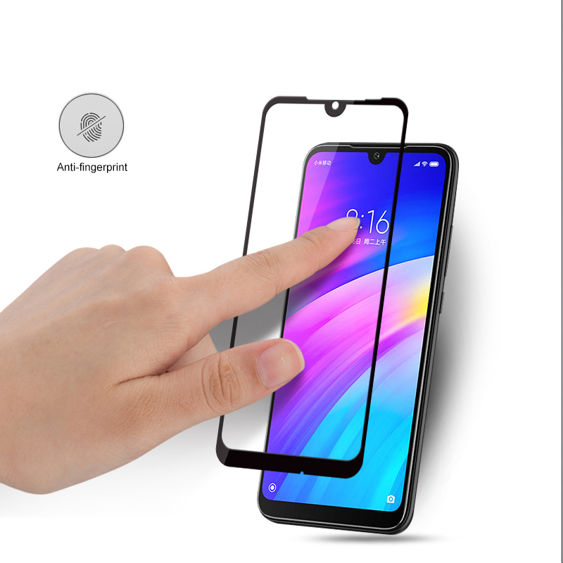 Image 4 - 2 pcs Glass For Xiaomi Redmi 7 Tempered Glass Full Cover Protective Safety Film On Red mi 7 Redmi7 Mi7 Global Screen Protector-in Phone Screen Protectors from Cellphones & Telecommunications