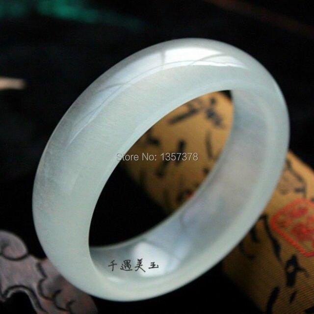 shitou 00409 100% Natural Jade Bracelets (Calcite Jade)