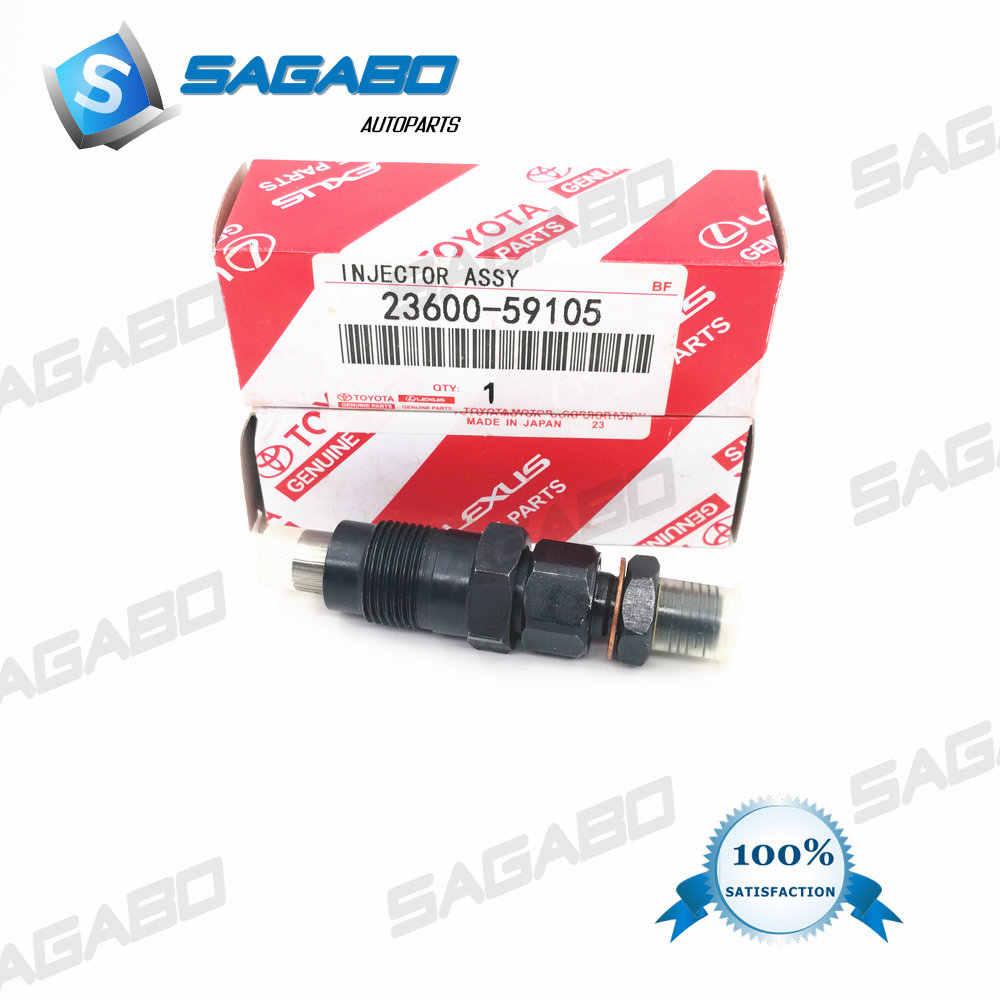 High quality DIESEL NEW INJECTORS FOR Toyota HILUX Hiace 3L 2L 1991-1998 23600-59105 093500-4042