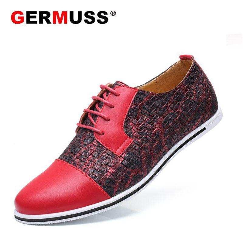 Alta amarelo Sapatos De Azul vermelho Italianos Casuais Qualidade cinza Condução Marca Para 2018 Trança Apartamentos Couro Mocassins Luxo Homens rIfrBUwq