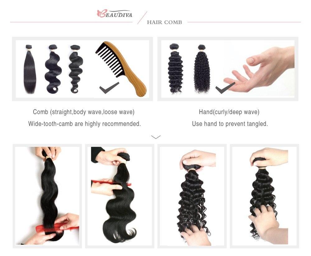 Beaudiva Hair Extension 100% Human Hair 23