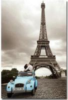 Parijs Eiffeltoren Stad Art Print Zijde Poste Muur 12x18' 24x36' 24x48'