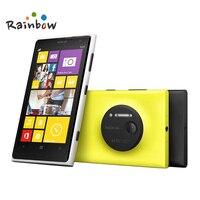 Nokia Lumia 1020 Оригинал открыл мобильный телефон 41.0mp camra 32 ГБ Встроенная память 2 г Оперативная память 4.5 сенсорный экран двухъядерный GPS WI FI Беспл