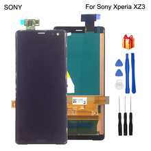 Original For Sony Xperia XZ3 LCD Display Touch Screen Digitizer Assembly Display Replacement For Sony XZ3 LCD Screen With Tools lcd display screen touch digitizer screen assembly for sony xperia v lt25 lt25i replacement lcd free shipping