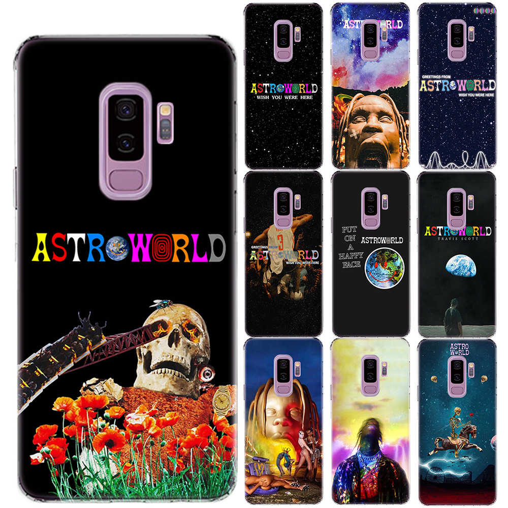 Travis Scott Soft TPU สำหรับ Samsung Galaxy S5 Mini S6 S7 Edge S8 S9 S10 Plus S10 E astroworld Sicko ซิลิโคน Coque