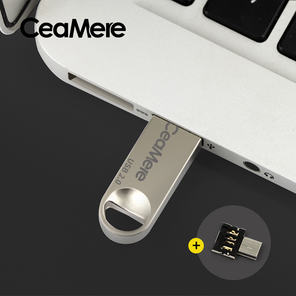 Image 3 - Ceamere C1 USB Flash Drive 8GB/16GB/32GB/64GB Pen Drive Pendrive USB 2.0 Flash Drive Memory stick  USB disk 512MB 256MB-in USB Flash Drives from Computer & Office