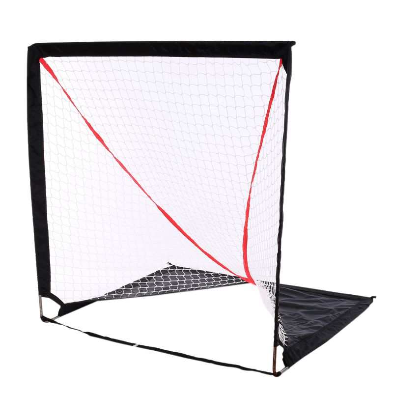 6*6 Activities Hockey Soccer Training Net Outdoor Sport Convience Ball Steel Goal 2017 New Arrival hockey net travel portable lacrosse pop up lax net for backyard shooting collapsible outdoor sport training foldable hockey goal