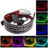 Interior Decorative Atmosphere Neon Light Lamp LED Wireless Multi Color RGB Voice Sensor Sound Music Control