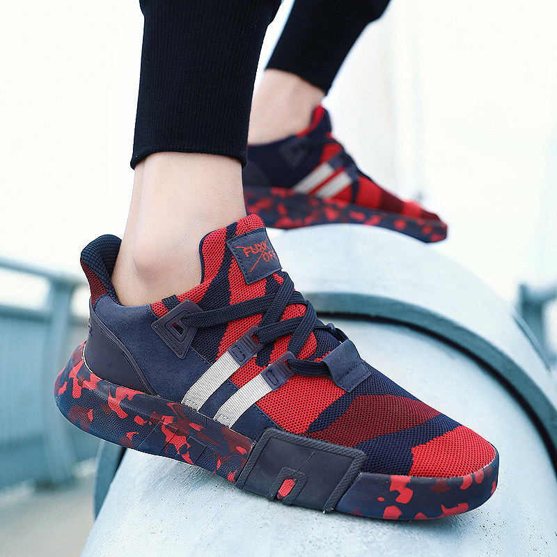 Image 2 - New Style Summer Youth Men Shoes Lightweight Breathable Fashion Casual Shoes For Male Comfortable  Zapatos Hombre Shoes size 46-in Men's Casual Shoes from Shoes