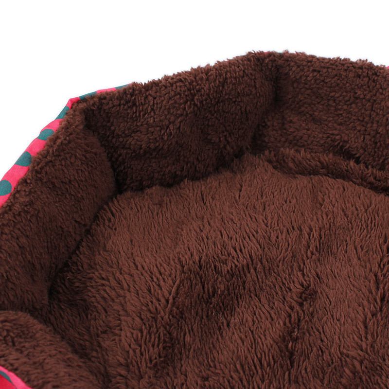 Octagon Shape Polka Dots Pet Dog Bedding