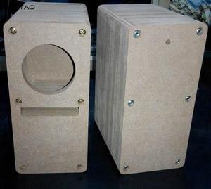 Image 5 - IWISTAO HIFI 2 Inch Labyrinth Full Range Speaker Empty Cabinet 1 Pair MDF Wood Board Adhesive Free Design