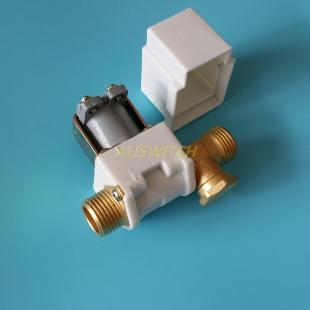 """1pc 12vdc Electric Solenoid Valve For Water Air Solar System Water Heater N/C 12V  DC 1/2"""" Normally Closed"""