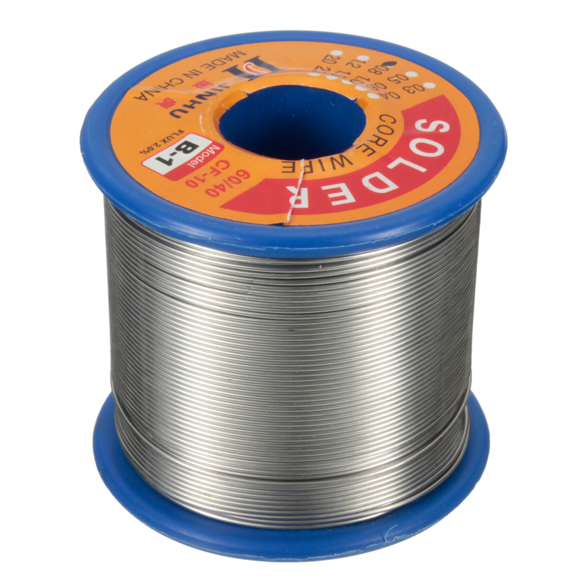 500g <font><b>60/40</b></font> 2% Flux Tin Lead 0.5-2mm Soldering Reel Wire Rosin Core <font><b>Solder</b></font> for Welding image
