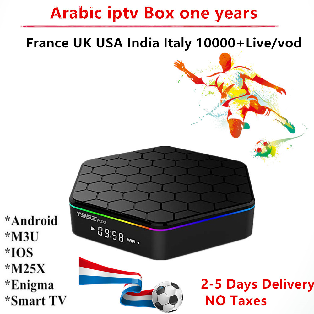 Arabic IPTV Box 1 Year 3000+ Subscription USA Belgium UK Spain Italy India Nordic Brazil France Channels Smart Tv m3u enigma2 цена