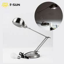 buy T-SUNRISE Big Clearance Sale Folding Desk Lamp Table Lamp Light with 6W E26 LED Bulb for Bedside/Book Reading/Study/Office Work,image LED lamps deals