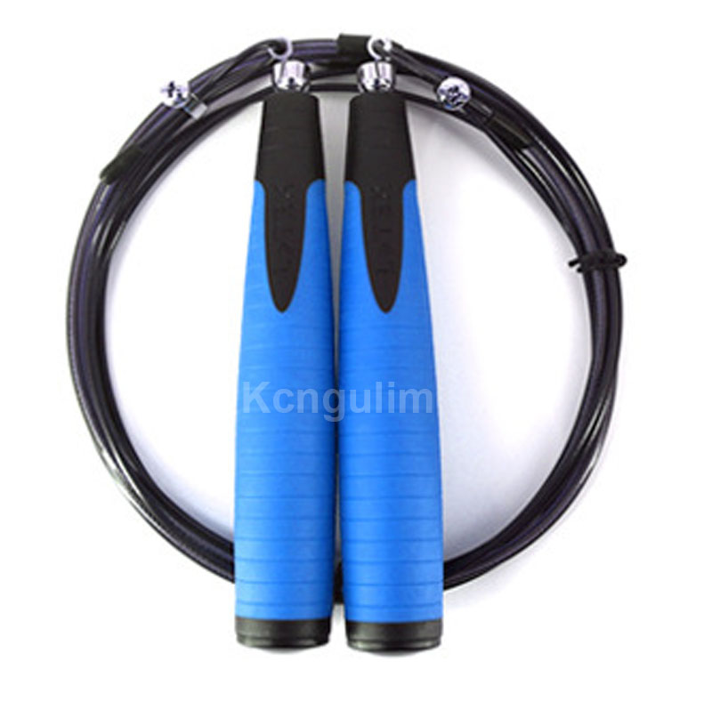 Professional Ultra-speed Ball Bearing Skipping Rope Gym Fitness Training Steel wire Crossfit Speed Jump Rope School competition