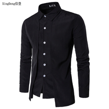 XingDeng Brand Fashion Casual Slim Shirts Wholesale Cotton L