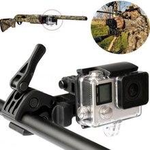 Sale Creative Fishing Rod Bow Arrow Sportsman Mount Selfie Monopod Base for GoPro Hero 4/ 3+/ 3/ 2 Sport Camera New Promotion