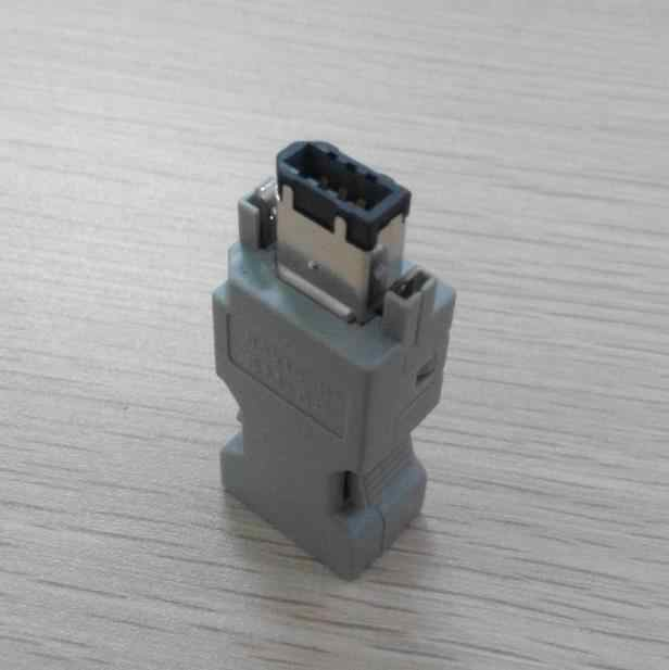 CN3 Encoder Connector 6 Pin USB 1394 for JZSP-CMP9-1 Yaskawa Panasonic  Servo Motor Encoder 6P NEW replace Molex 55100-0670