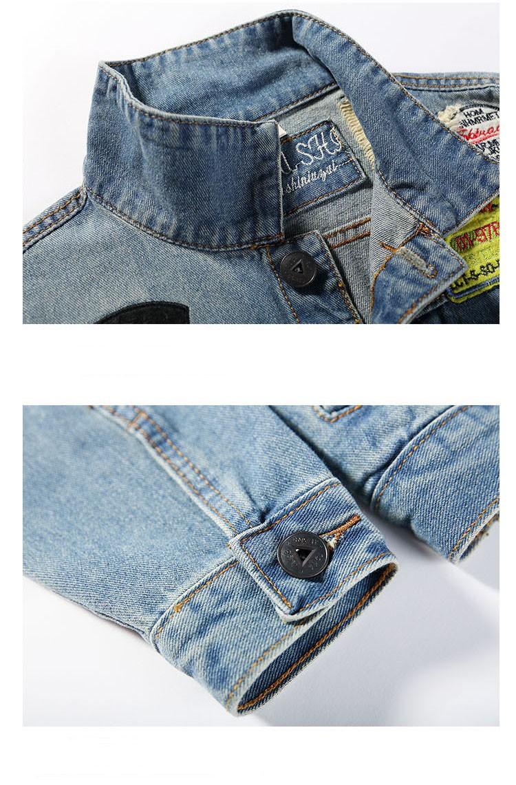 Men's Denim Jacket high quality fashion Jeans Jackets Slim fit casual streetwear Vintage Mens jean clothing Plus Size M-5XL (10)