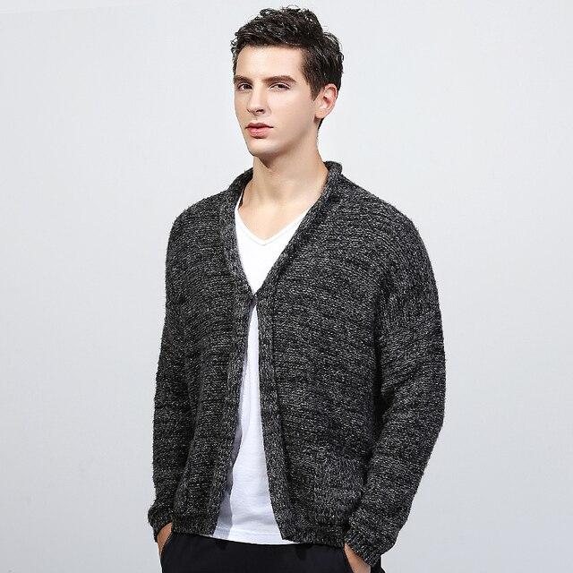 2016 marca de moda caxemira camisola dos homens de roupas camisola dos homens de malha blusas longo pulover mens suéter de cashmere