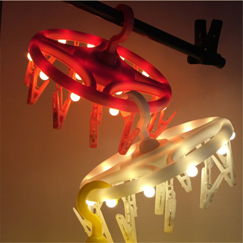 New LED Clothes Hanger Photo Clip Lamp Home Garden Creative Night Light 3AA Battery ins Christmas Party Gift Garland Decor jiaderui usb rechargeable battery neon lamp new year christmas wedding decor lamp flamingo cactus moon cloud led home nightlight