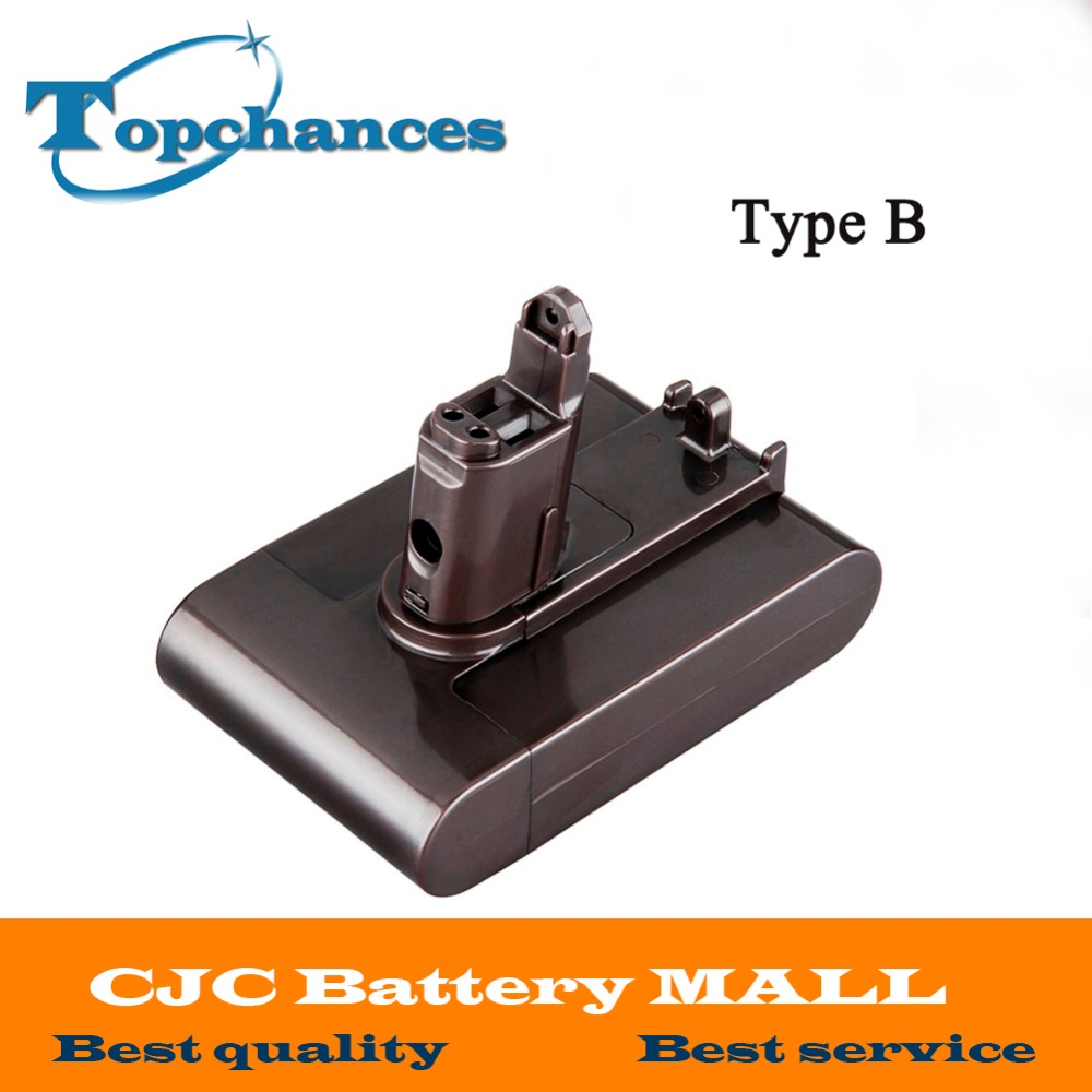 High quality Newest 22 2V 2000mah Li ion Type B Replacement Power Tool Battery for Dyson